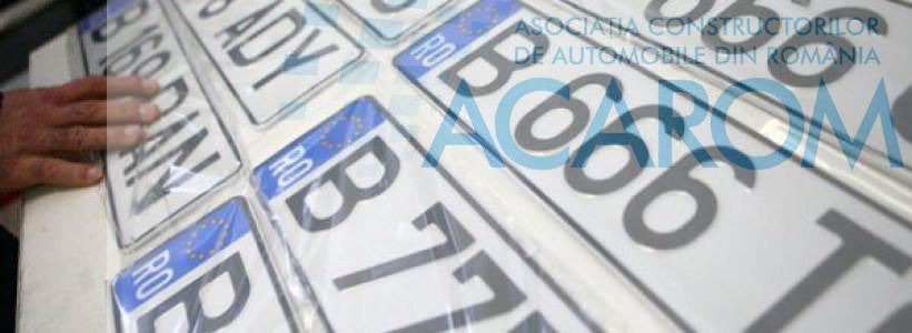 Inmatriculari autoturisme in Romania – septembrie 2019