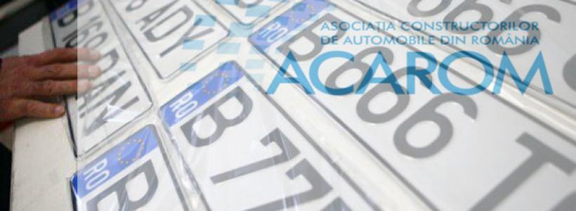 Inmatriculari autoturisme in Romania – Martie 2021