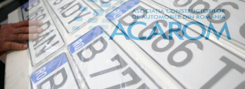 Inmatriculari autoturisme in Romania – Total 2019