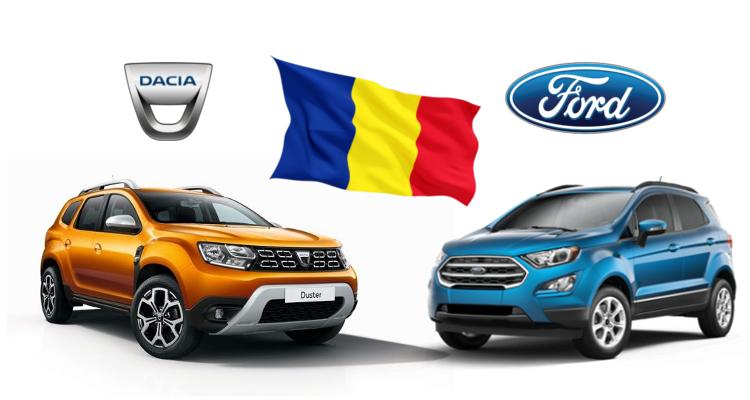 Productie autoturisme in Romania – octombrie 2019