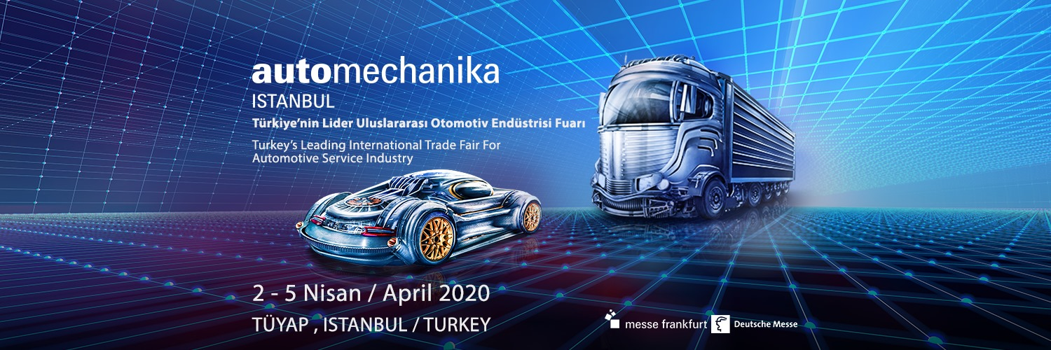 Invitatie participare Targ International Automechanika Istanbul 2020