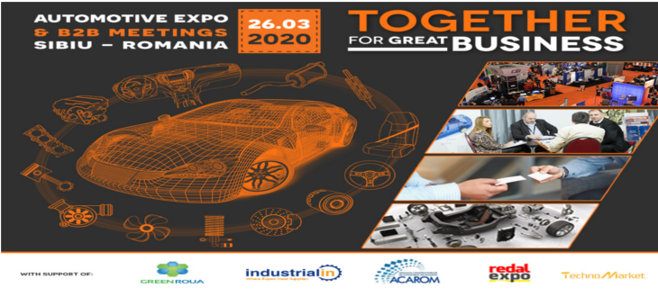 Automotive Expo & B2B Meetings, 26 Martie 2020, Sibiu
