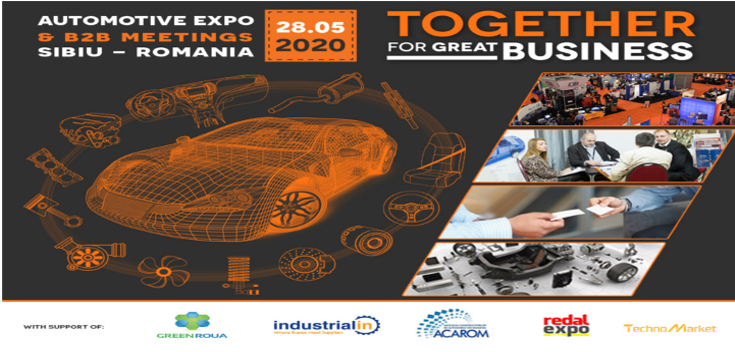 AUTOMOTIVE EXPO & B2B MEETINGS 2020 postponed for 28.05.2020