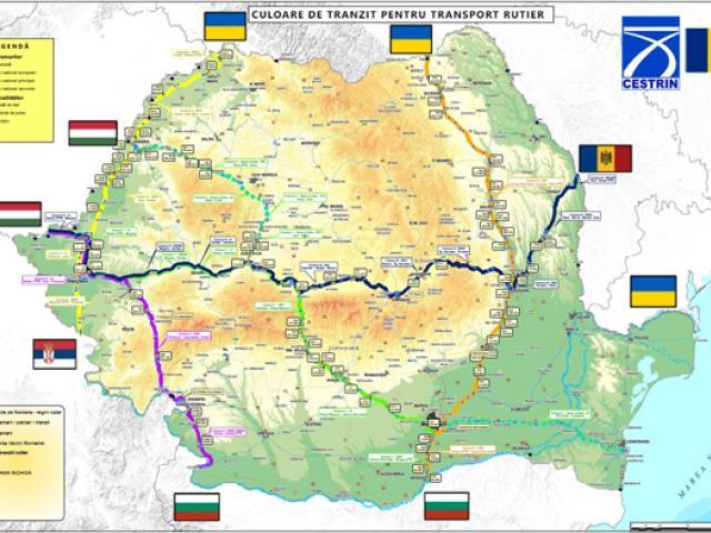 Cele 5 culoare pentru transportul mărfurilor pe teritoriul României