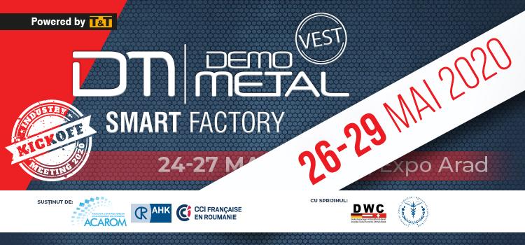Demo Metal Vest 2020, reprogramat în perioada 26 – 29 MAI 2020