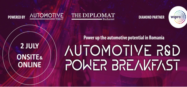 AUTOMOTIVE POWER BREAKFAST – RESEARCH & DEVELOPMENT, 2 Iulie, InterContinental Hotel Bucuresti
