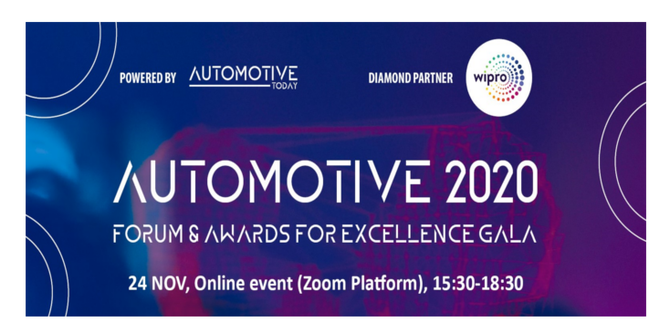 AUTOMOTIVE FORUM & AWARDS FOR EXCELLENCE GALA celebrates 2020's resilience and business power ONLINE on November 24 in Bucharest