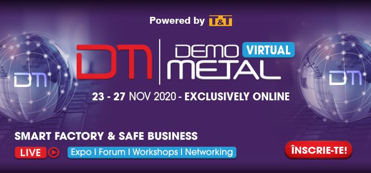 Demo Metal Virtual – 23-27 noiembrie 2020