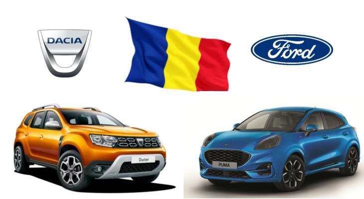 Productie autoturisme in Romania – Total 2020